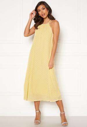 Y.A.S Bali Strap Midi Dress Pale Banana L