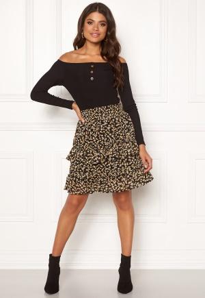 Y.A.S Claris MW Skirt Black XS