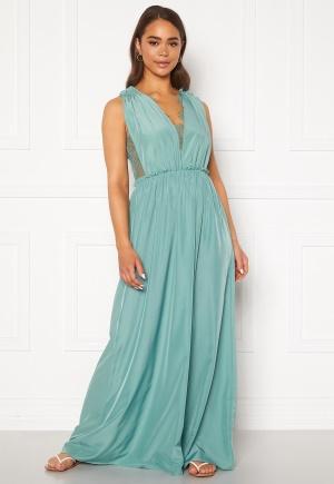 Y.A.S Elena SL Maxi Dress Oil Blue XS