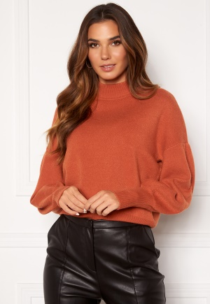 Y.A.S Fonny Knit Pullover Auburn S