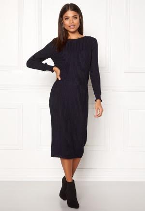 Y.A.S Seoul Lurex Knit Dress Carbon S