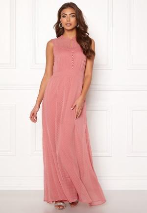 Y.A.S Sienna S/L Dress Dusty Rose XS
