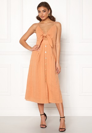 Y.A.S Susse Strap Dress Toasted Nut M
