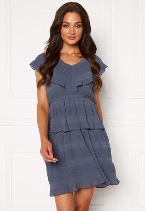 Y.A.S Sydney Sl Midi Dress Dark Sapphire XS