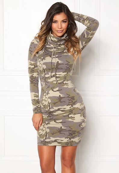 Chiara Forthi Camo lounge dress