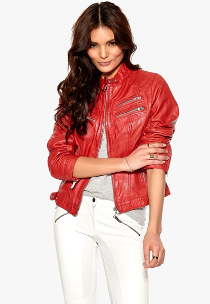 ROCKANDBLUE Sirpa Jacket 0230 Red Bubbleroom.se