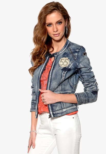 Culture Osrem Denim Jacket Bluewash Bubbleroom.se