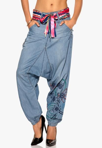 Desigual Concha Denim Jeans Denim Concha Bubbleroom.se