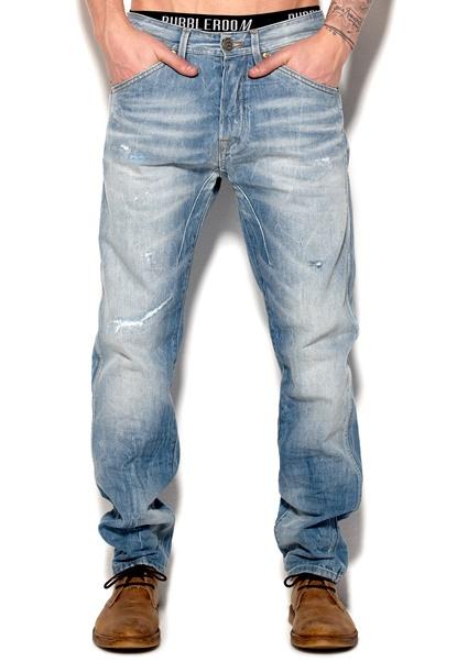 JACK&JONES Erik Tristan 259 Jeans Medium Blue Denim Bubbleroom.se