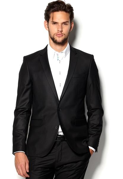 SELECTED HOMME One Logan Blazer Black Bubbleroom.se