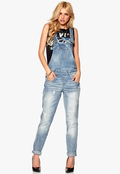 ONLY Kim Witty Jeans Light Blue Denim Bubbleroom.se