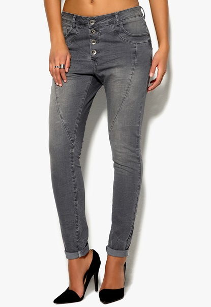 TrulyMine Jeans Grådenim Bubbleroom.se