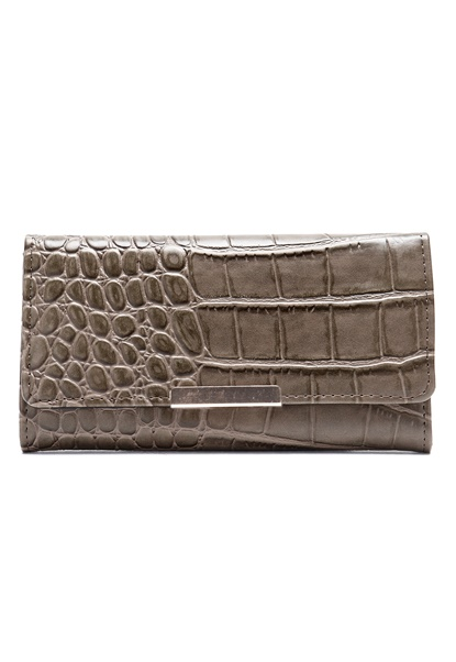 Pieces Sahra Purse Croco Sand Bubbleroom.se