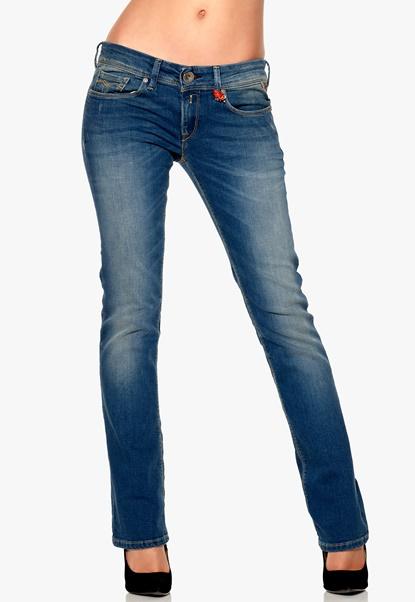REPLAY Rearmy Pants 009 Fresh Blue Denim Bubbleroom.se