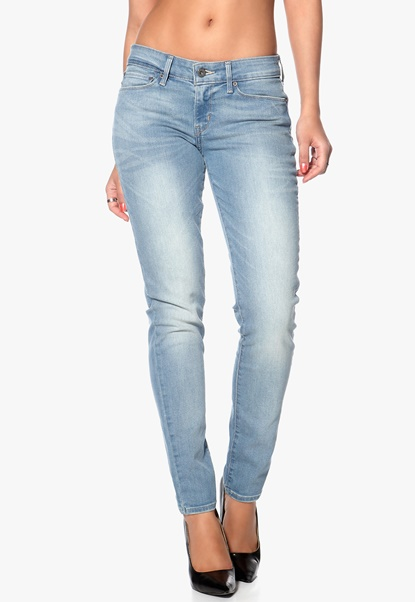LEVI'S Curve ID Skinny 0636 Electric Denim Bubbleroom.se
