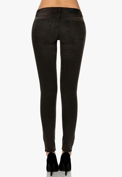 CHEAP MONDAY Slim Jeans Black Shade Bubbleroom.se