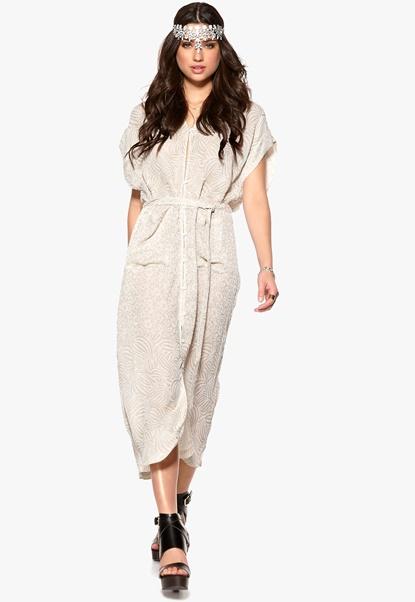RODEBJER Saki Dress 179 Light Khaki Bubbleroom.se