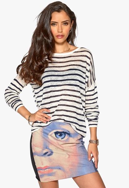 SELECTED FEMME Rosine Knit Pullover Dark Navy Bubbleroom.se