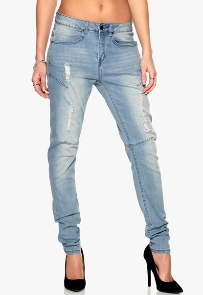Sisters Point Fifa-2 jeans L.B Denim Bubbleroom.se
