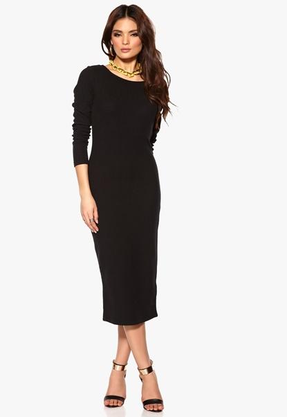 VILA Intras Dress Black Bubbleroom.se