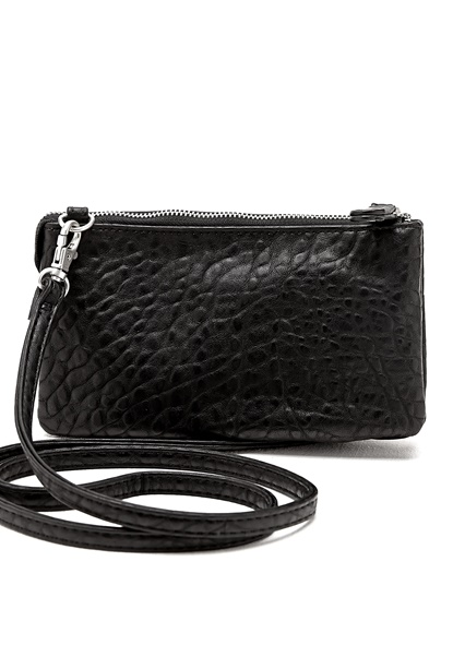 Pieces Dagna Cross Over Bag Black Bubbleroom.se