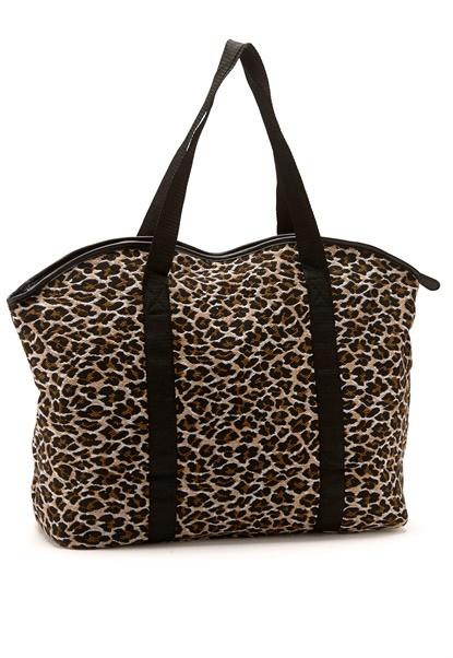 Pieces Leona Net Print Bag Cognac Bubbleroom.se