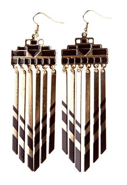 Pieces Otylia Earrings Gold Bubbleroom.se
