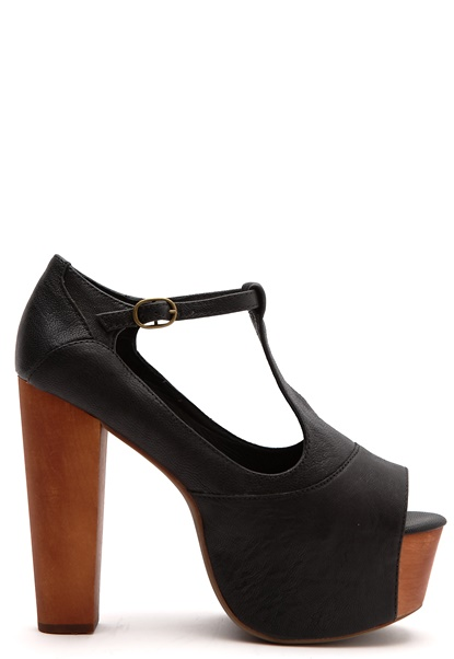 Jeffrey Campbell Foxy wd Black Bubbleroom.se
