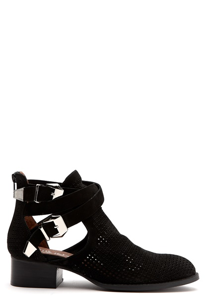 Jeffrey Campbell Everly Black punchout Bubbleroom.se