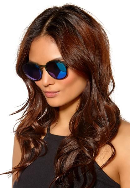 Le Specs Swizzle Sunglasses Khaki W/Green Revo Bubbleroom.se