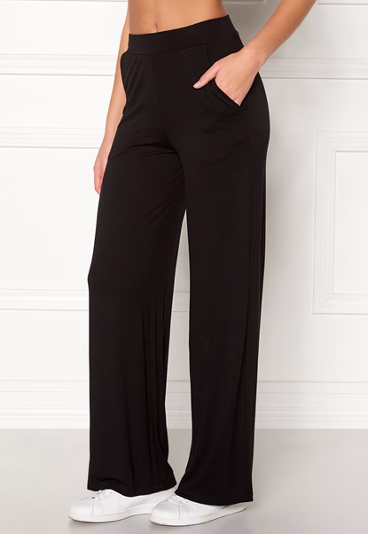 77thFLEA Alanya trousers Black Bubbleroom.se