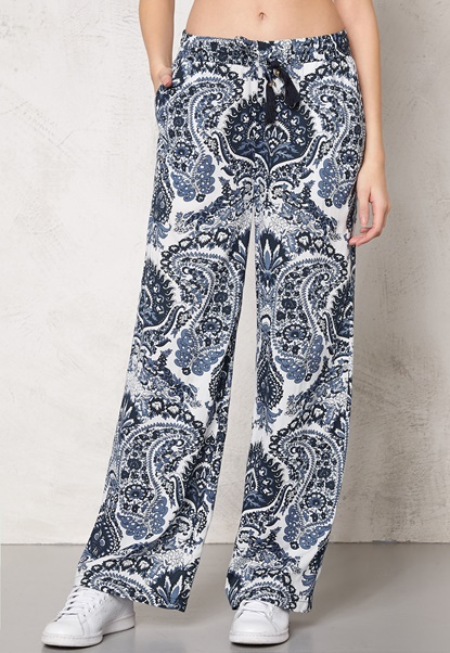 77thFLEA Antalya Trousers Blue / Print Bubbleroom.eu