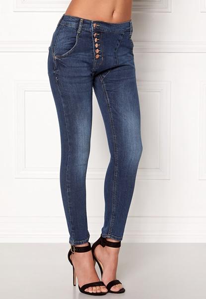 77thFLEA Deanne girlfriend jeans Medium blue Bubbleroom.fi