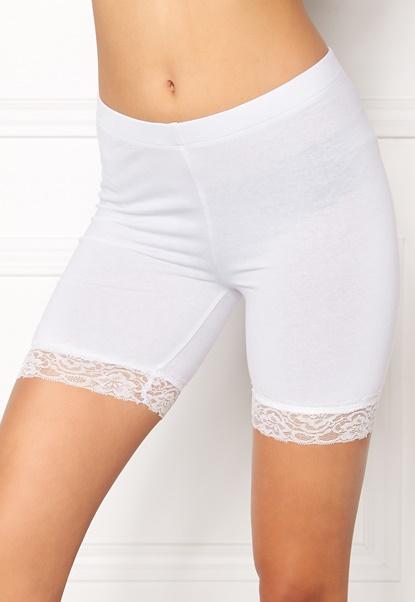 77thFLEA Juli short lace leggings White Bubbleroom.se