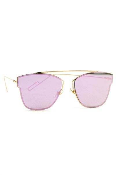 77thFLEA Pinky Sunglasses Gold Bubbleroom.fi