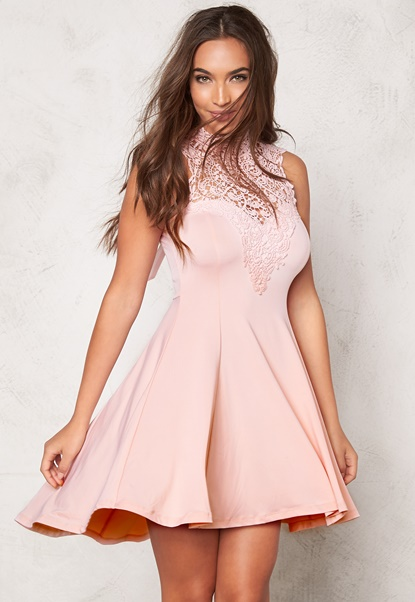 BUBBLEROOM Tamale dress Light pink Bubbleroom.fi