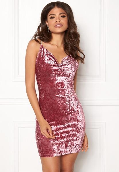 BUBBLEROOM Liliana Dress Dusty pink Bubbleroom.no