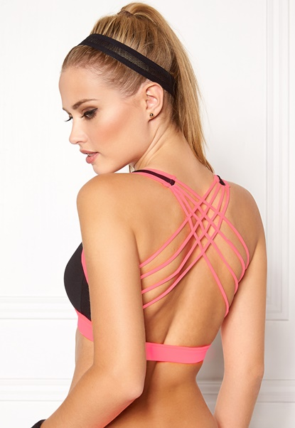 BUBBLEROOM SPORT Strong soft sports bra Black Bubbleroom.se