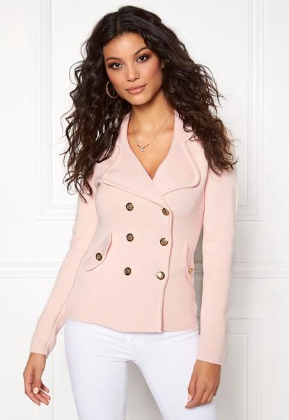 Chiara Forthi Chiara Heavy Knit Jacka Pink Champagne Bubbleroom.se