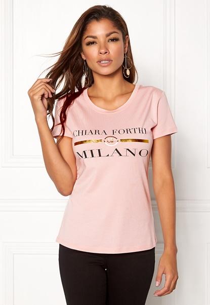 Chiara Forthi Chiara Tee Light pink Bubbleroom.se