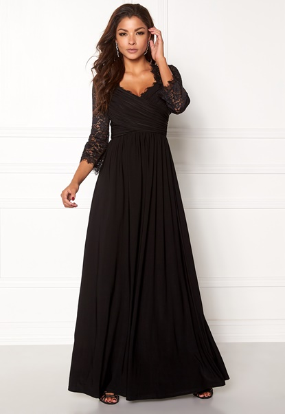 Chiara Forthi Nathalia Maxi Dress Black Bubbleroom.se