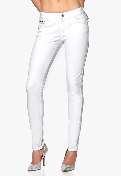 D.Brand Slim Fit Jeans White Bubbleroom.se