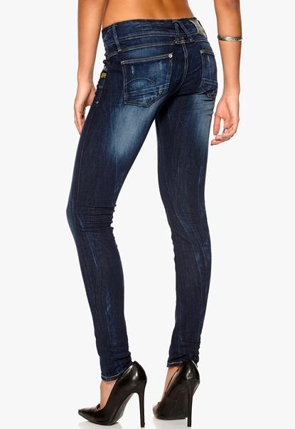 G-STAR Lynn Skinny Jeans 89 Dk Aged Bubbleroom.se