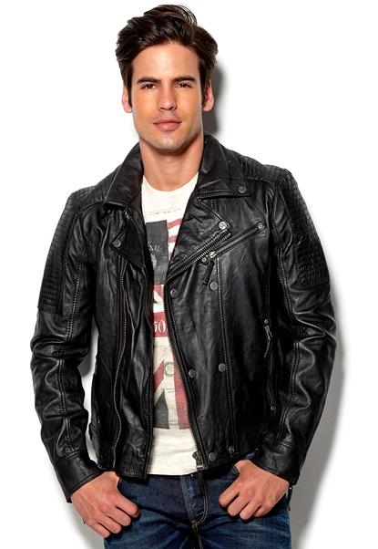 Gipsy Ricco Leather Jacket BLK Bubbleroom.se