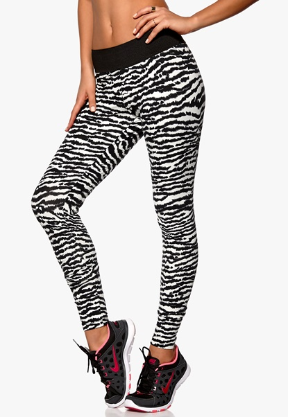 TrulyMine Leggings Zebra Bubbleroom.se