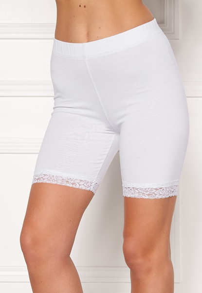 Happy Holly Greta Bike shorts White Bubbleroom.se