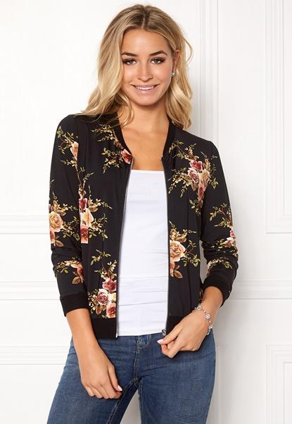 Happy Holly Hanna bomber jacket Black / Patterned Bubbleroom.eu