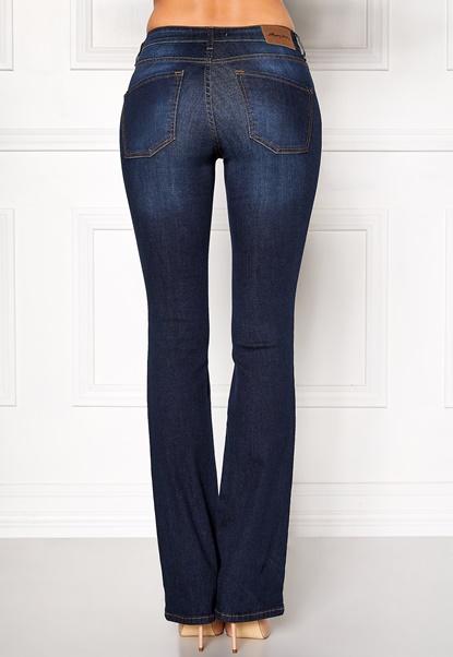 Happy Holly Uma bootcut jeans Dark denim Bubbleroom.fi