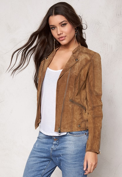 JOFAMA Kristine 3 Jacket 34 Whiskey Bubbleroom.se