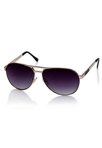 Le Specs Just Mauid Sunglasses Gold/Black/Smoke Bubbleroom.se